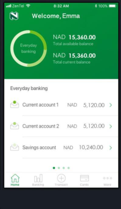 Nedbank Money Africa App